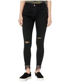 Джинси Bebe High-Rise Heartbreaker Jeans in Black Destroy Black, 4XL (US 27) (10319691)