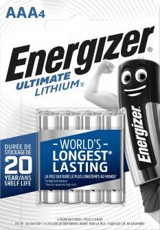 Батарейки Energizer AAA Ultimate Lithium 4 шт (E301535701)