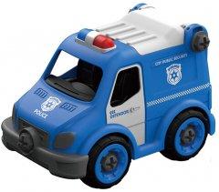 Полицейский грузовик Hulna на радиоуправлении 21 деталь конструктор (LM8022-YZ-1)