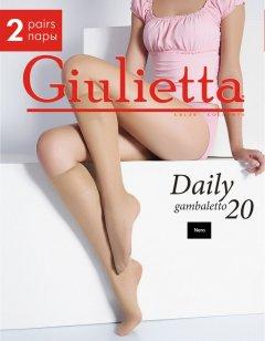Гольфы Giulietta Daily Gambaletto 20 Den OS 2 пары Nero (4820040091105)