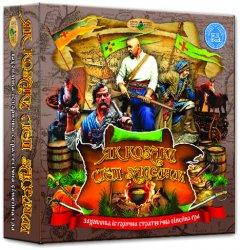 Настольная игра Київська Фабрика іграшок Как козаки степь заселяли (4820121182302)