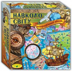 Настольная игра Київська Фабрика іграшок Вокруг света (4820121182258)