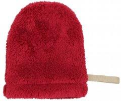 Рукавичка-спонж для снятия макияжа Red Point Mitten Soft Бордовая (КР.01.Т.04.57.000)