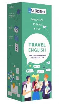 Карточки для изучения английского для путешествий English Student (9786177702190)