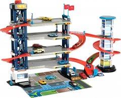 Игровой набор Dickie Toys Паркинг четырехэтажный с автомобилями и вертолетом (3749008)