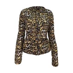 Куртка GUESS леопардовый ( W52L03W5D5)