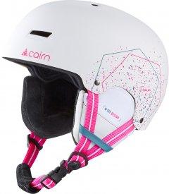 Шлем горнолыжный Cairn Darwin Jr 53-54 White spray (0605239-201-53)
