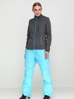 Лыжные брюки Crivit 93002_гор 42 Голубые с черным (2000000295824)
