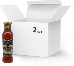 Упаковка соусов Peri Peri Болоньезе310 г х 2 шт (4820172250555)