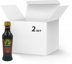 Упаковка соусов соевых Bonsai Premium Терияки густых 250 мл х 2 шт (4820172250470)