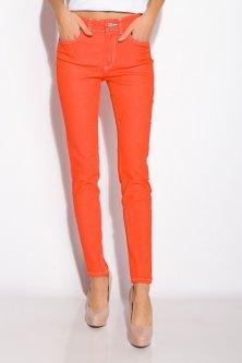 Джинси жіночі 230F041 (Морквяний) XL