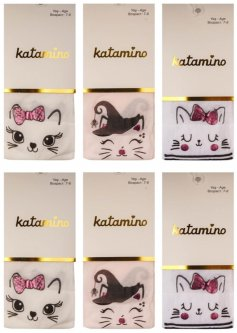 Колготки Katamino K60103 134-146 см 6 шт. Асорті (8680652377570)