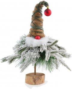 Искусственная елка-гномик Новогодько (YES! Fun) 47 см заснеженная белым снегом (904263) (4820079042635)