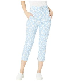 Джинси Juicy Couture Denim Pearl Embellished Capri Blue Jeans Chill Sketched, 30 (10424846)