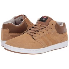 Кеди Globe Octave Mid RM Tan Shaved Suede/White Synthetic Leather, 41 (260 мм) (10435661)