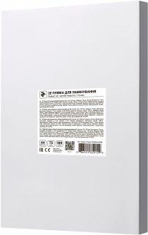 Пленка для ламинации 2E A4 216 х 303 мм 75 мкм Матовая (2E-FILM-A4-075M)