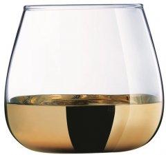 Набор стаканов Luminarc Сир де Коньяк Электрическое Золото 4 х 300 мл (P9303/1)