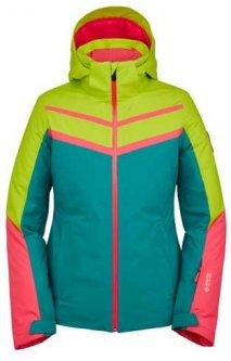 Горнолыжная куртка Spyder Captivate Gtx Infinium 38203038-442 8 Зеленая с розовым и бирюзовым (192636167605)