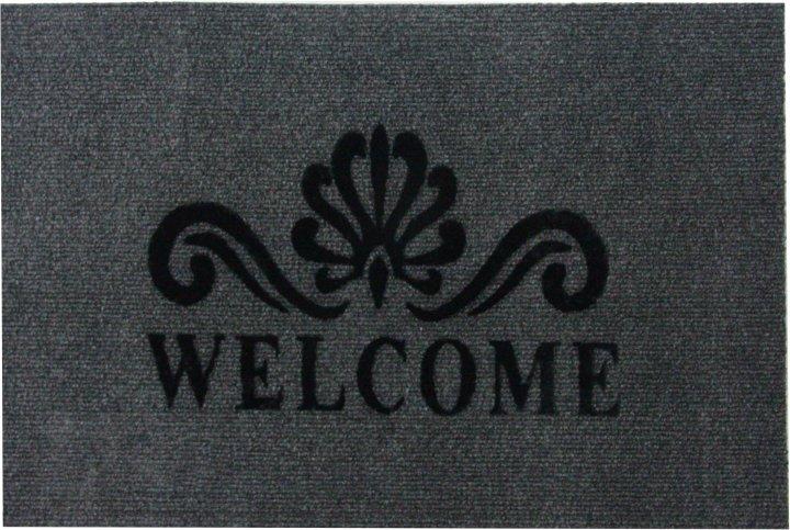 Придверный коврик IzziHome Luna Italyan 40х60 Gri (2200000548931) - изображение 1