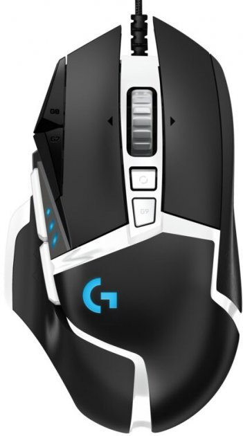 Мышь Logitech G502 SE Hero Gaming Mouse USB Black/White (910-005729) - изображение 1