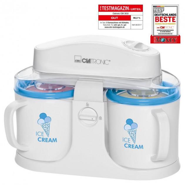 Апарат для приготування морозива CLATRONIC ICM 3650 мороженица (87889) - изображение 1