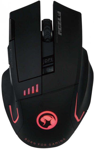 Миша Marvo M720W Wireless Black - зображення 1