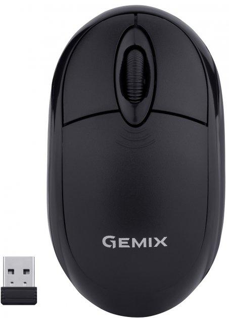 Мышь Gemix GM185 Wireless Black - изображение 1