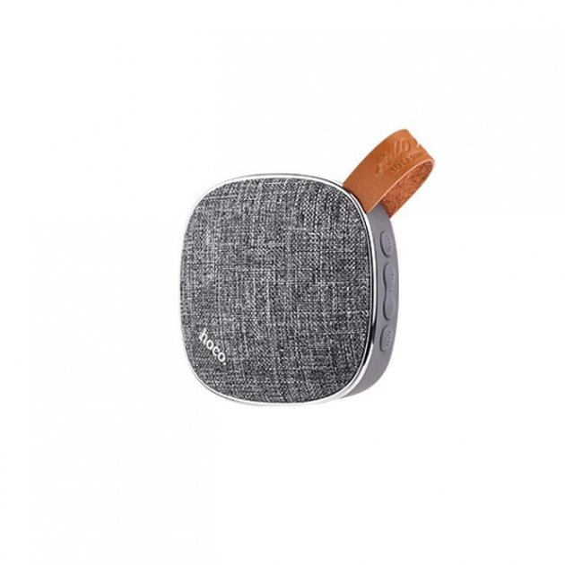 Портативна колонка Hoco BS9 Bluetooth Speaker Gray - зображення 1