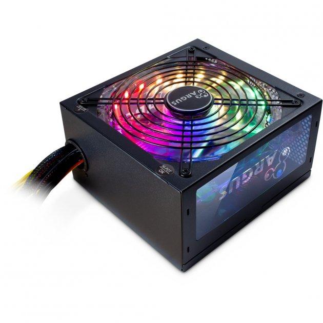 Блок питания ПК Argus RGB-500 II Модульный (RGB-500 II) - изображение 1