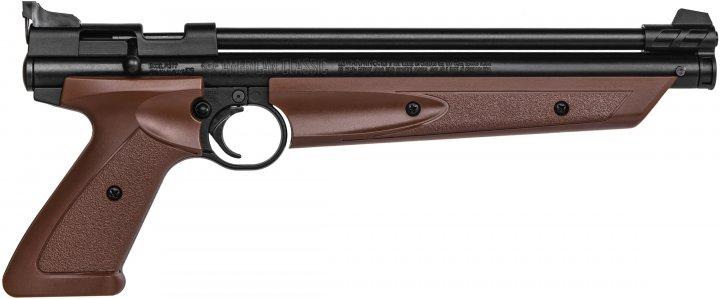 Пневматичний пістолет Crosman American Classic 4.5 мм P1377BR - зображення 1
