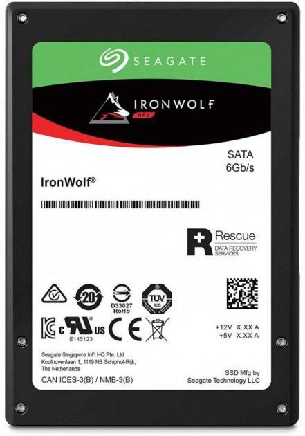 """Seagate IronWolf SSD 960GB 2.5"""" SATAIII 3D TLC (ZA960NM10011) - зображення 1"""