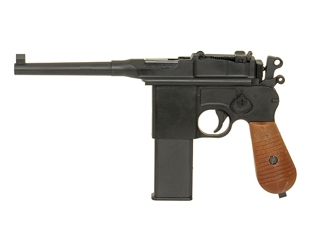 Пістолет WELL Mauser C96 CO2 (Страйкбол 6мм) - зображення 1