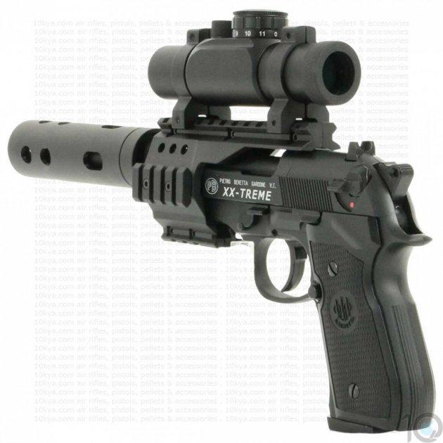 Пневматический пистолет Umarex BERETTA 92 FS XX-TREME - изображение 1