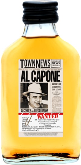 Напиток алкогольный Односолодовый AL CAPONE 0.1 л 40% (4820136353087) - изображение 1
