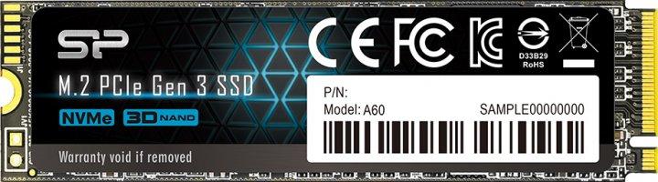 Silicon Power P34A60 256GB M.2 2280 PCIe 3.0 x4 (SP256GBP34A60M28) - зображення 1