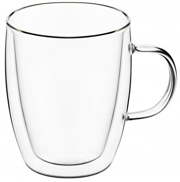 Набор чашек Ardesto для латте с двойным дном 270 мл 2 шт (AR2627G) - изображение 1
