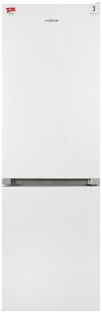 Двухкамерный холодильник VESTFROST CLF3741W - изображение 1