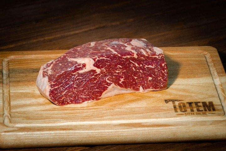 Стейк ТОТЕМ СТЕЙК Нью-Йорк (Steak New York) вологої витримки 14+ днів М (250-300г) - изображение 1