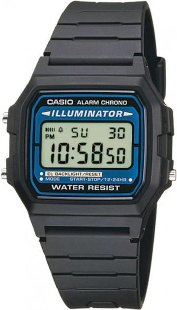 Чоловічі наручні годинники Casio F-105W-1AWYEF - зображення 1