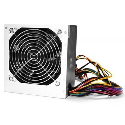 Блок питания Logicpower ATX-400W; 12см, 2 SATA, OEM, без кабеля питания - изображение 1
