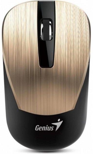 Мышь беспроводная Genius NX-7015 (31030015402) Gold USB - изображение 1
