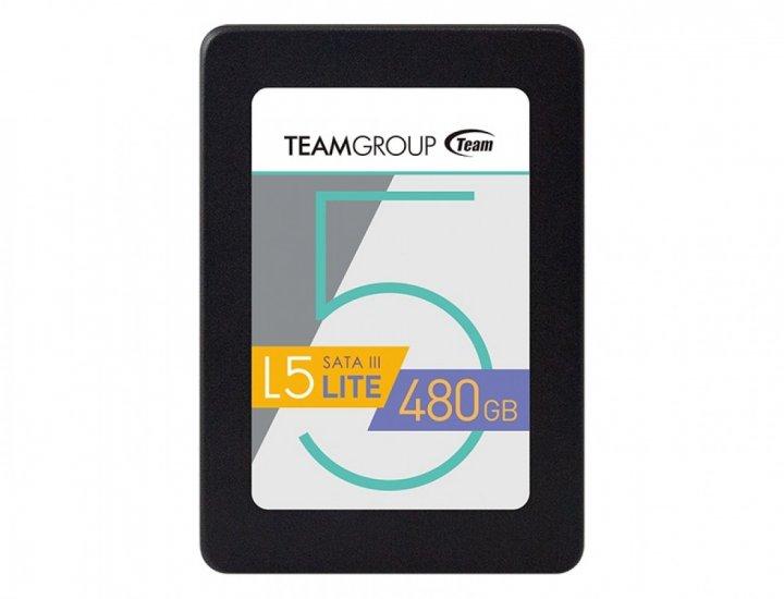 Накопитель Team TLC GX1 SSD 2.5 480 GB (A52027) - зображення 1
