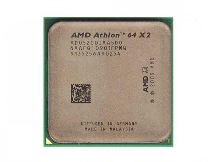 Процесор AMD ATHLON 64 X2 5200 2 ЯДРА, 2.7 GHz, AM2 , Tray ( ADO5200IAA5DO) Б/У - зображення 1