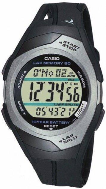Чоловічий годинник CASIO STR-300C-1VER - зображення 1