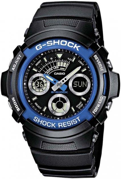Чоловічий годинник CASIO AW-591-2AER - зображення 1
