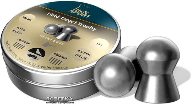 Свинцовые пули H&N Field Target Trophy 0.56 г 500 шт - изображение 1