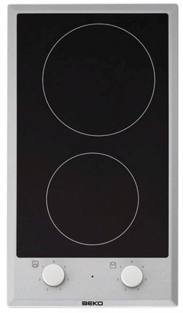 Варочная поверхность электрическая BEKO Domino HDCC 32200 X - изображение 1