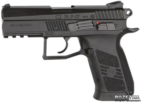 Пневматичний пістолет ASG CZ 75 P-07 (23702519) - зображення 1