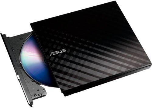 Asus DVD±R/RW USB 2.0 SDRW-08D2S-U LITE Black External - изображение 1