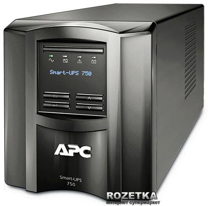 APC Smart-UPS 750VA LCD 230V (SMT750I) - изображение 1